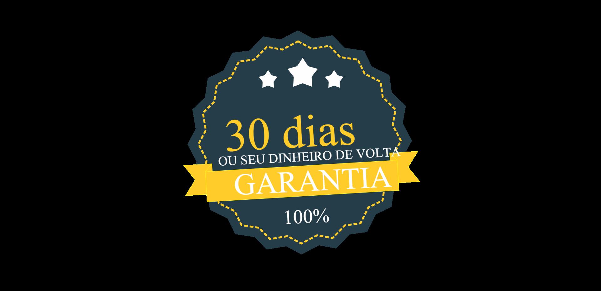 30 dias de garantia