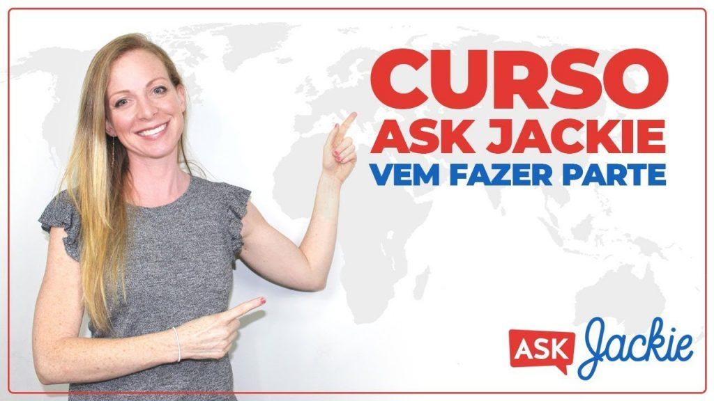 Curso de inglês Ask Jackie