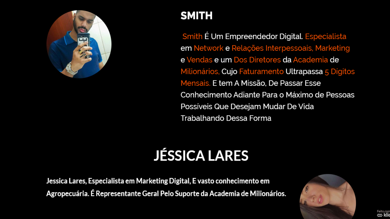 Smith e Jéssica Lares